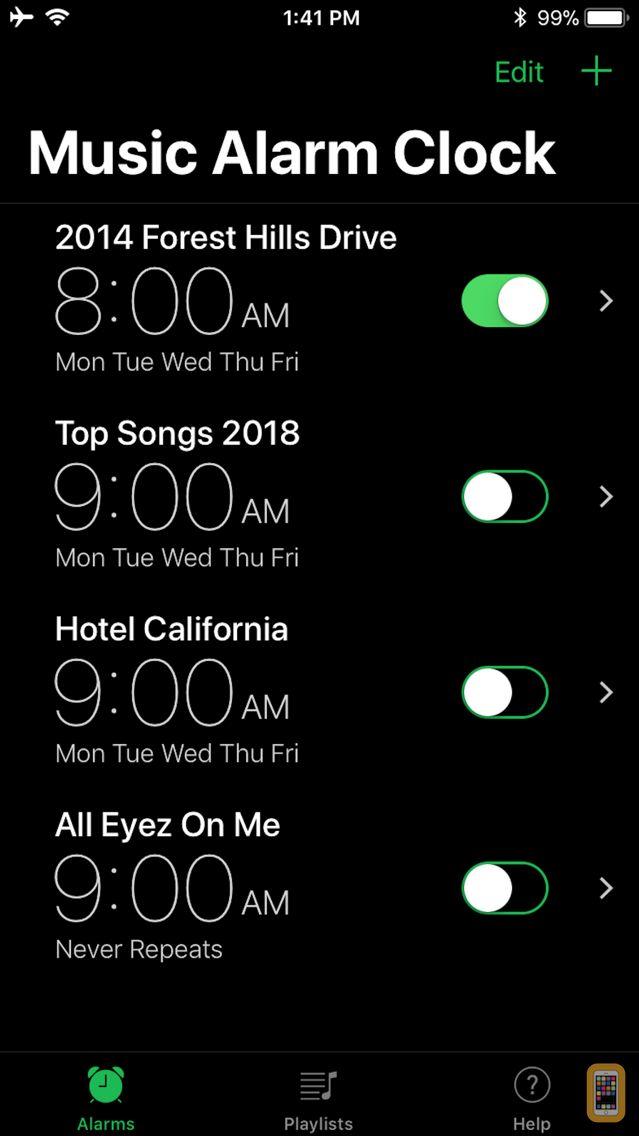 Screenshot - Music Alarm Clock Pro