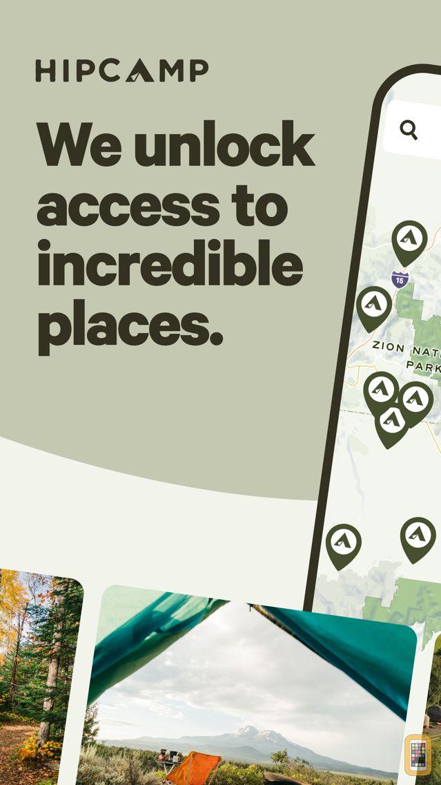 Screenshot - Hipcamp: Camping, RVs & Cabins