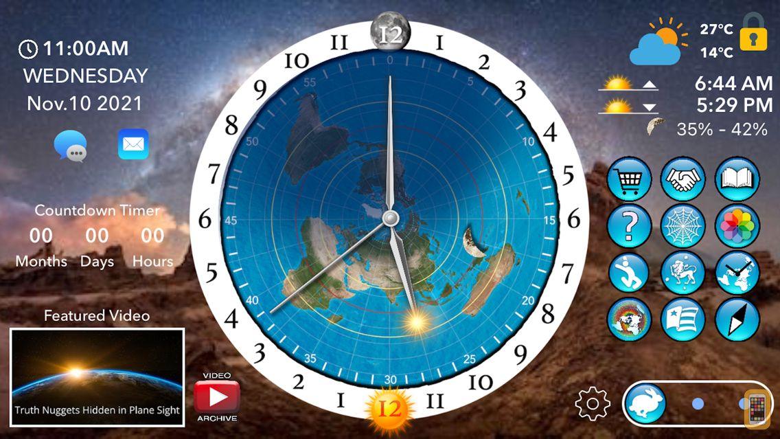 Screenshot - Flat Earth Sun, Moon & Zodiac