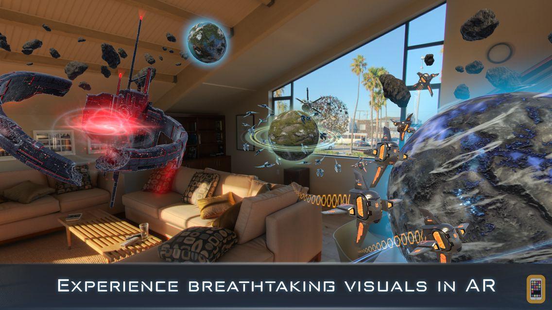 Screenshot - Cosmic Frontline AR