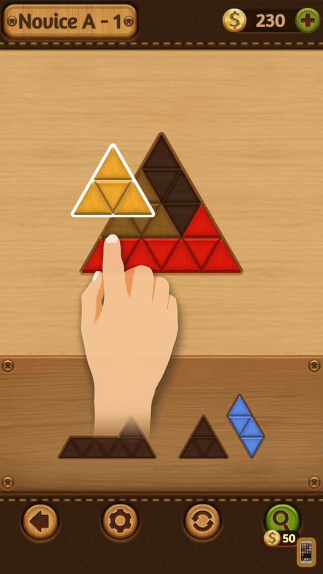 Screenshot - Block Puzzle: Wood Collection
