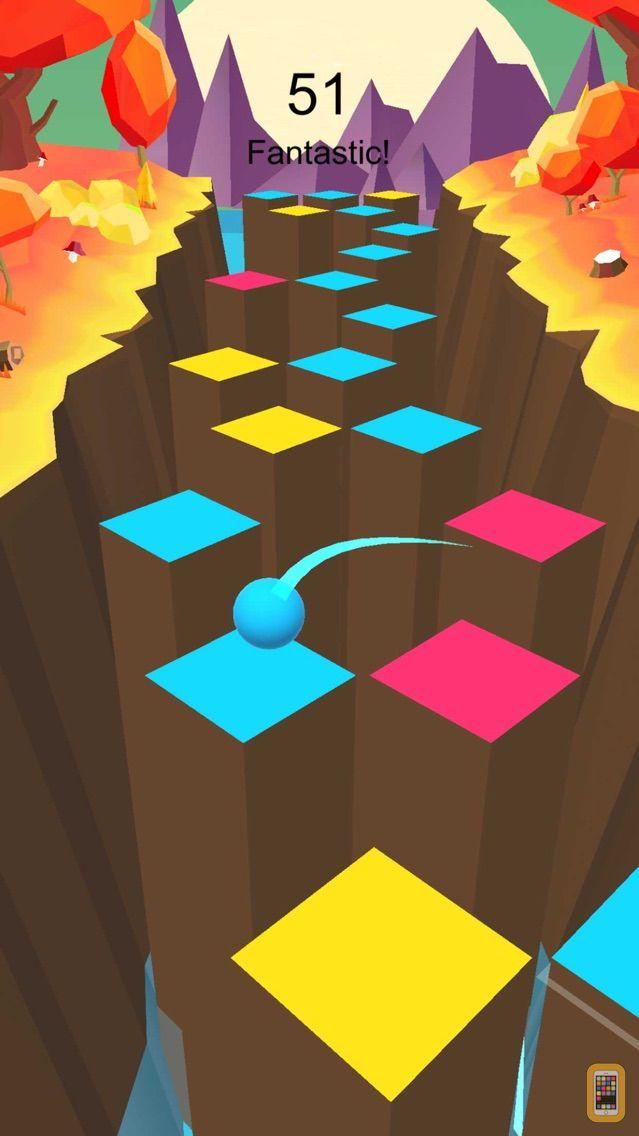 Screenshot - Color Piano Ball: Jump and Hit