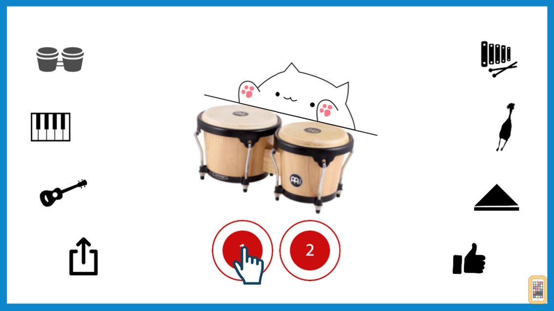 Screenshot - Bongo Cat Musical Instruments