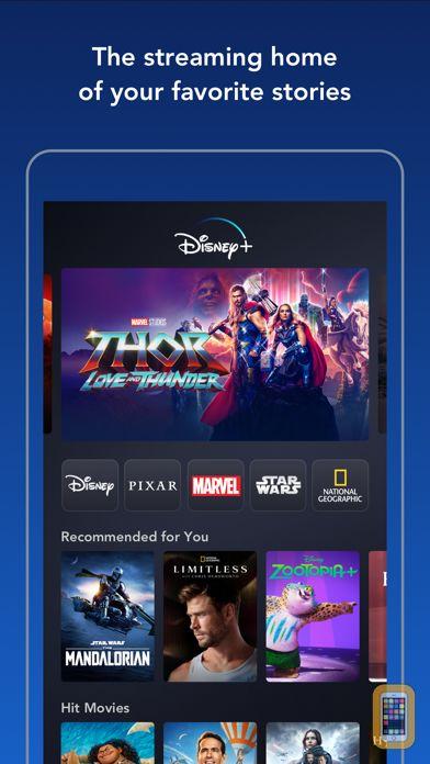 Screenshot - Disney+