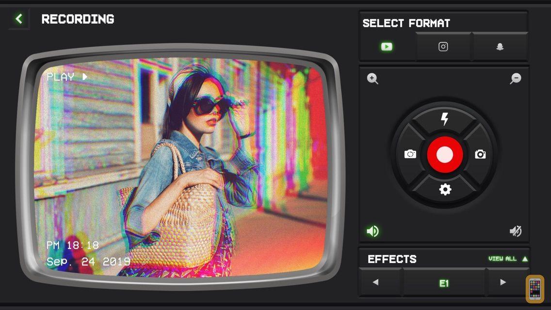 Screenshot - VHS Video: Vintage Cam Editor