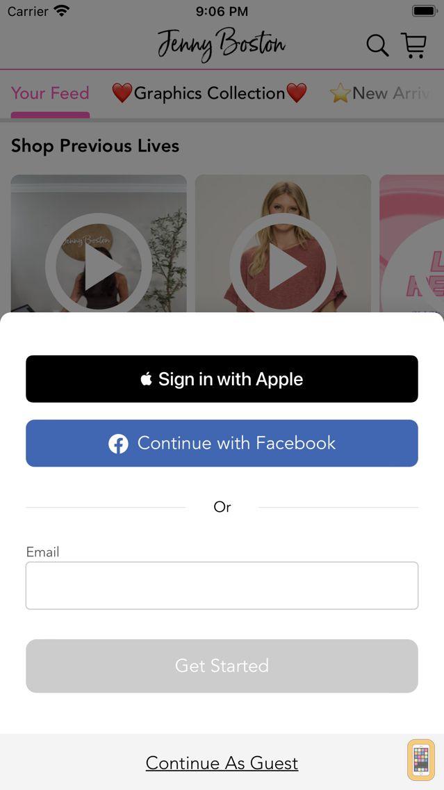 Screenshot - Jenny Boston Boutique