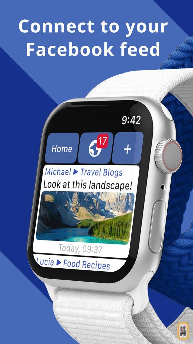 Screenshot - WristBook for Facebook