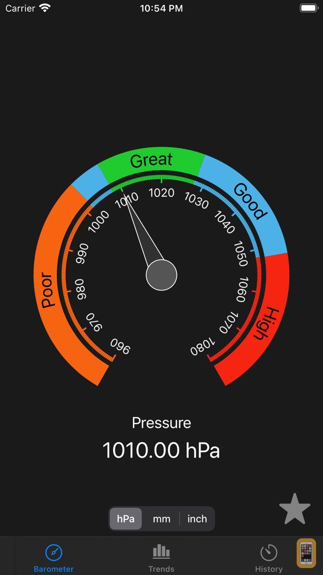Screenshot - AtmoBarometer