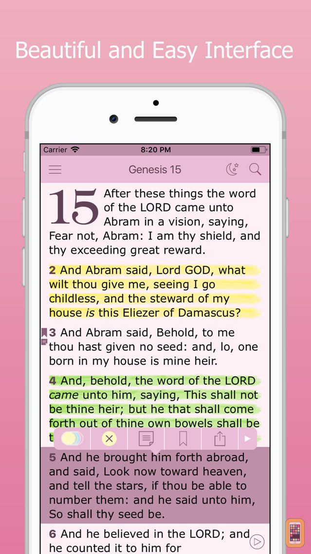Screenshot - Bible for Women & Daily Study