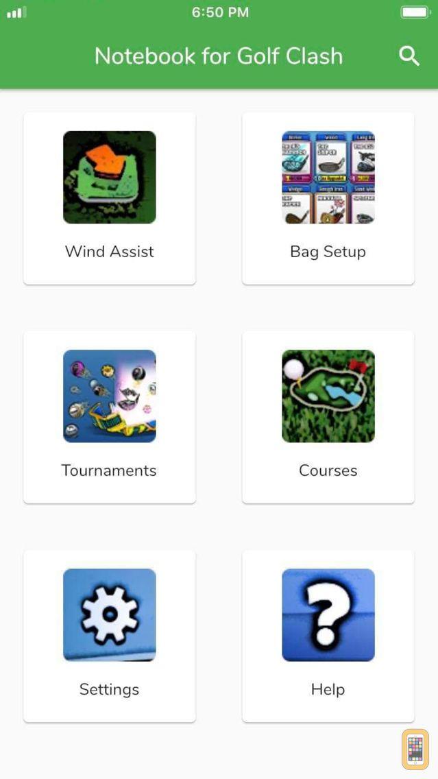 Screenshot - Notebook for Golf Clash