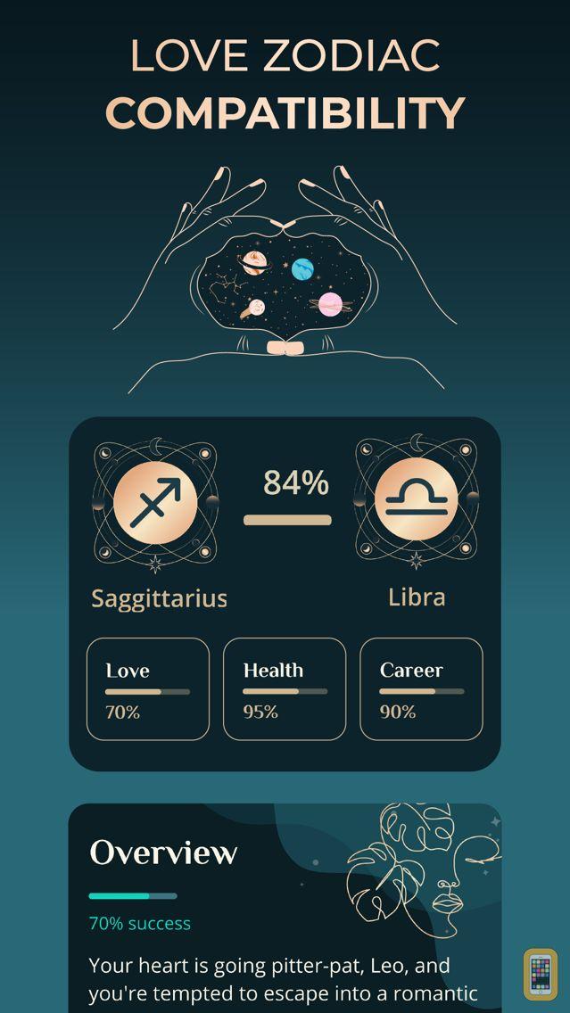 Screenshot - Astroline astrology, horoscope