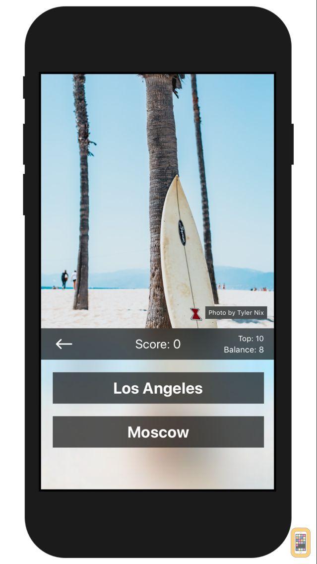 Screenshot - Travel Challenge - Geo Quiz