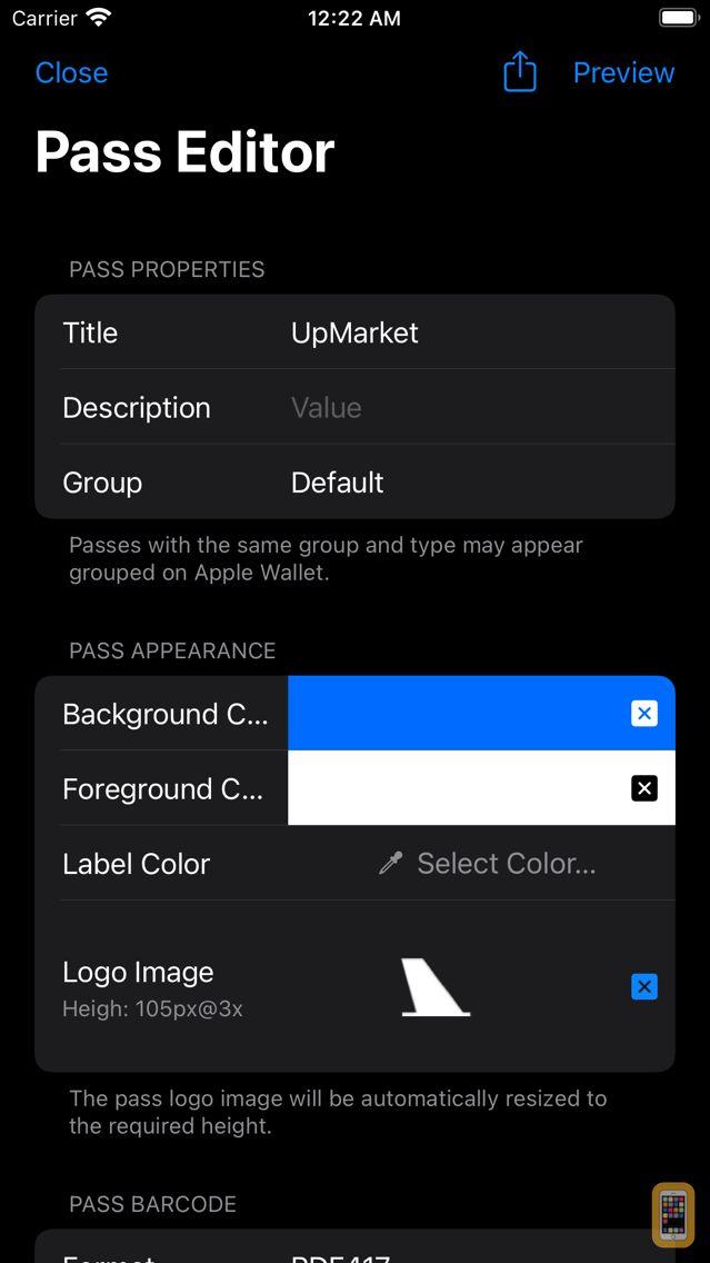 Screenshot - MakePass: Barcode to Wallet