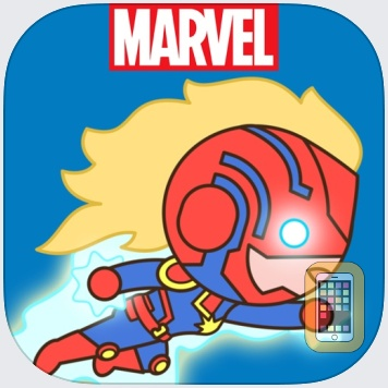 Captain Marvel Stickers by Marvel Entertainment (Universal)