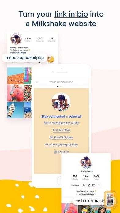 Screenshot - Milkshake — Website Builder
