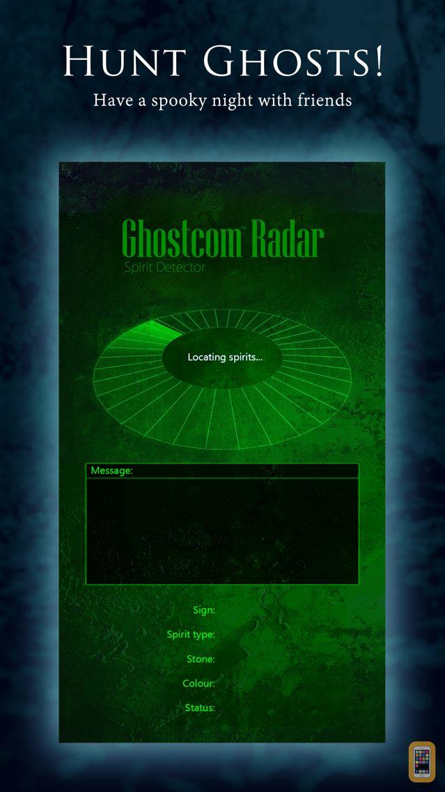 Screenshot - Ghostcom Radar Pro