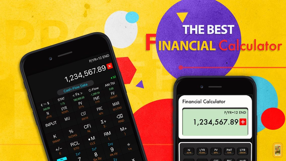 Screenshot - 10bII Financial Calculator PRO