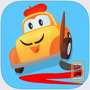 Car City - Kids Coloring Book by Mini Mango (Universal)