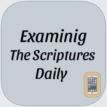 Examining The Scriptures Daily by Hamlet Karapetyan (Universal)