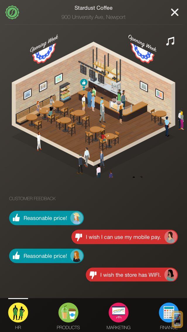 Screenshot - Coffee Inc: Business Tycoon