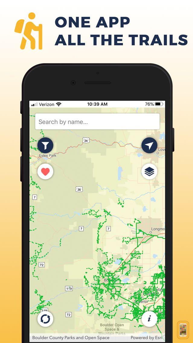Screenshot - Boulder Area Trails