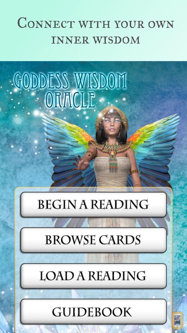 Screenshot - Goddess Wisdom Oracle