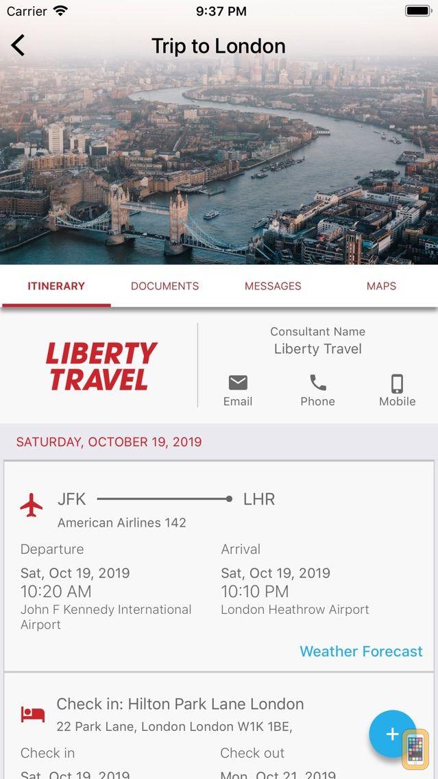 Screenshot - Liberty Travel Go