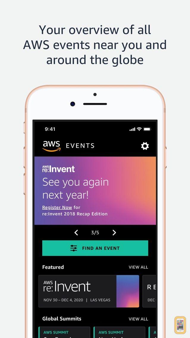 Screenshot - AWS Events
