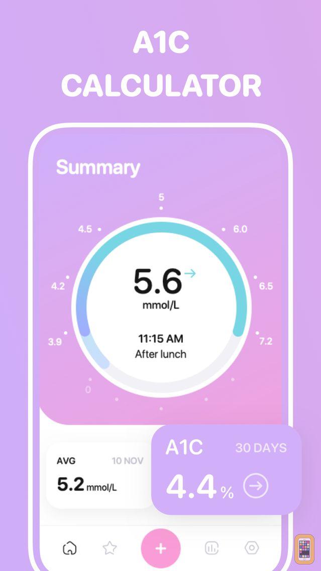 Screenshot - Glucose tracker++