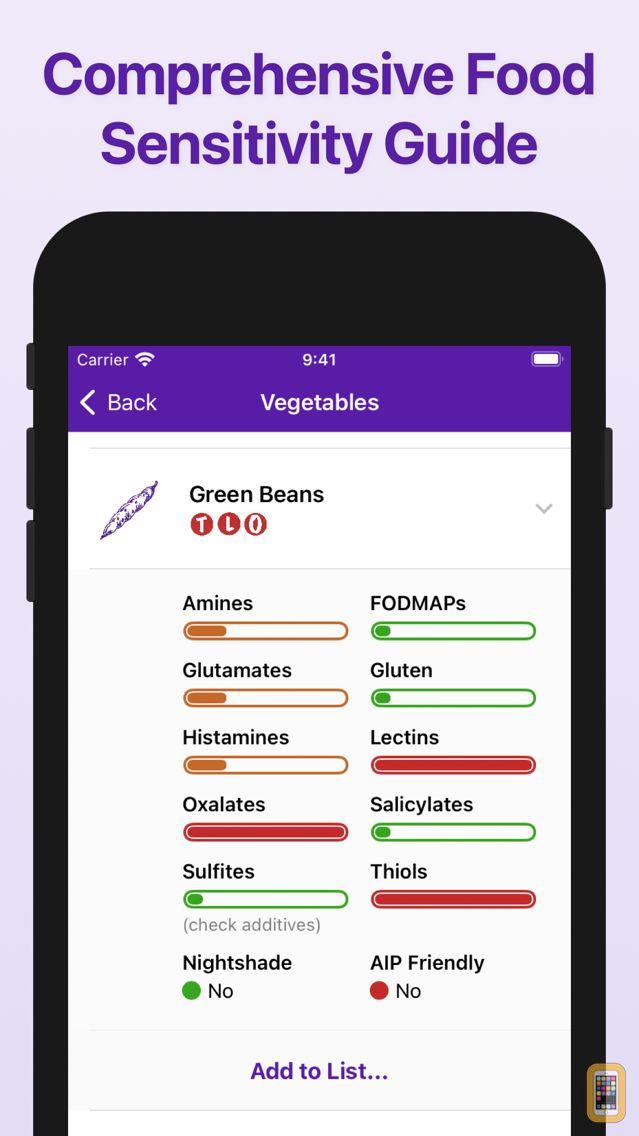 Screenshot - Food Sense Guide