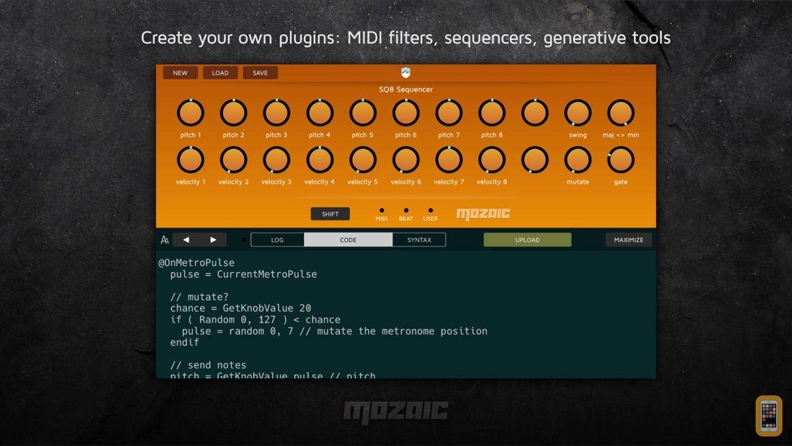 Screenshot - Mozaic Plugin Workshop