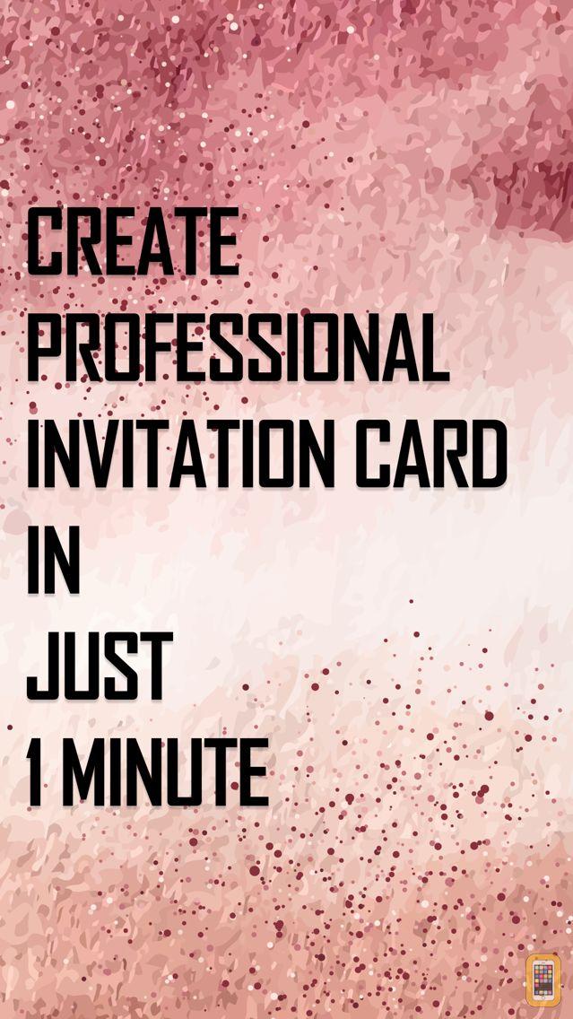 Screenshot - Invitation Maker: Invite Maker