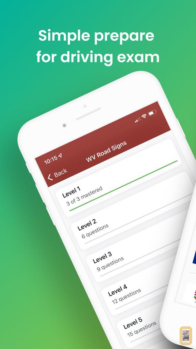 Screenshot - DMV Pre Exams 2019 -All States