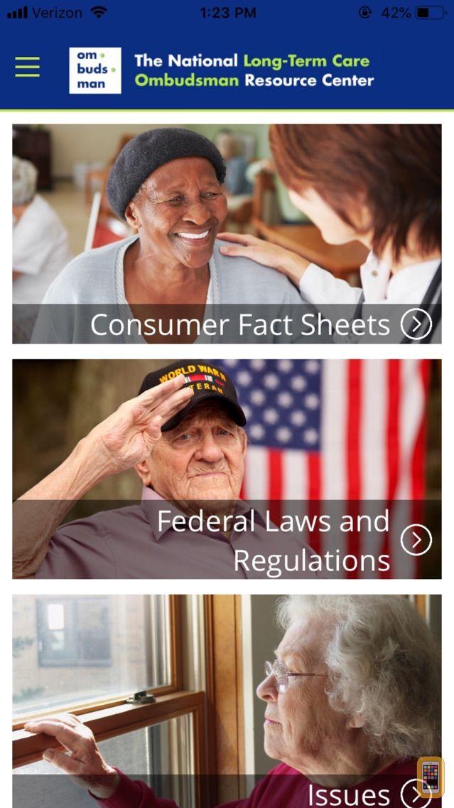 Screenshot - LTC Ombudsman Resource Center