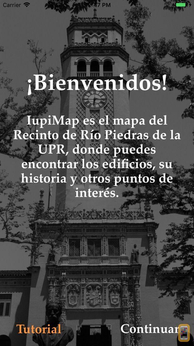 Screenshot - IUPIMap