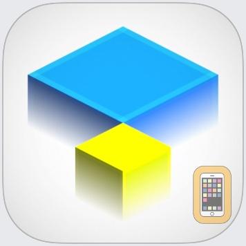 Isometric Squares - puzzle ² by Wojciech Wysocki (Universal)