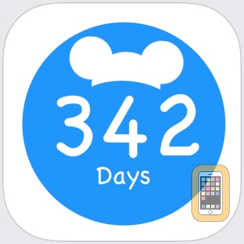 Countdown for Disney World by Ethan Brimhall (iPhone)