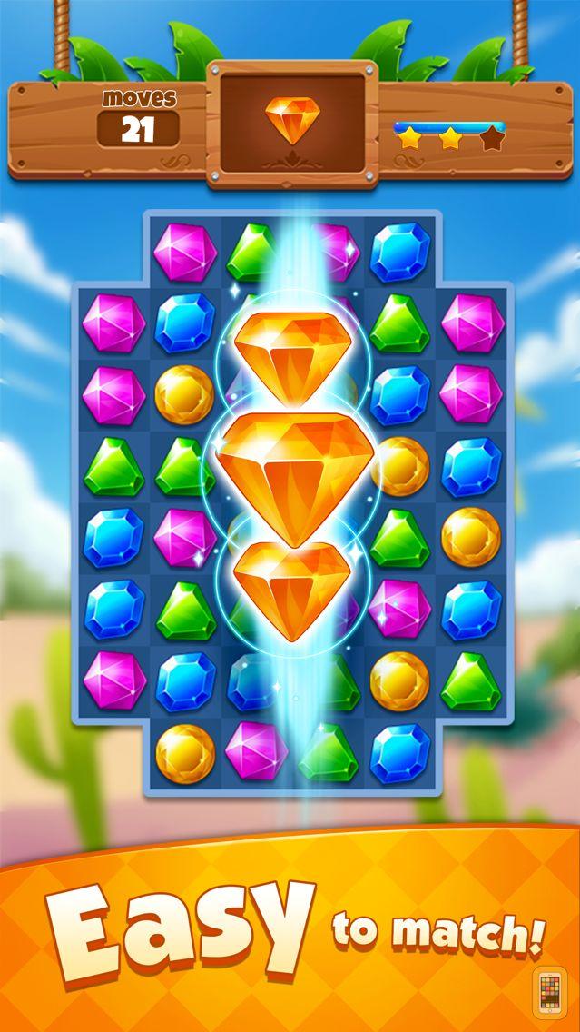 Screenshot - Jewel Adventure - Match 3 Game
