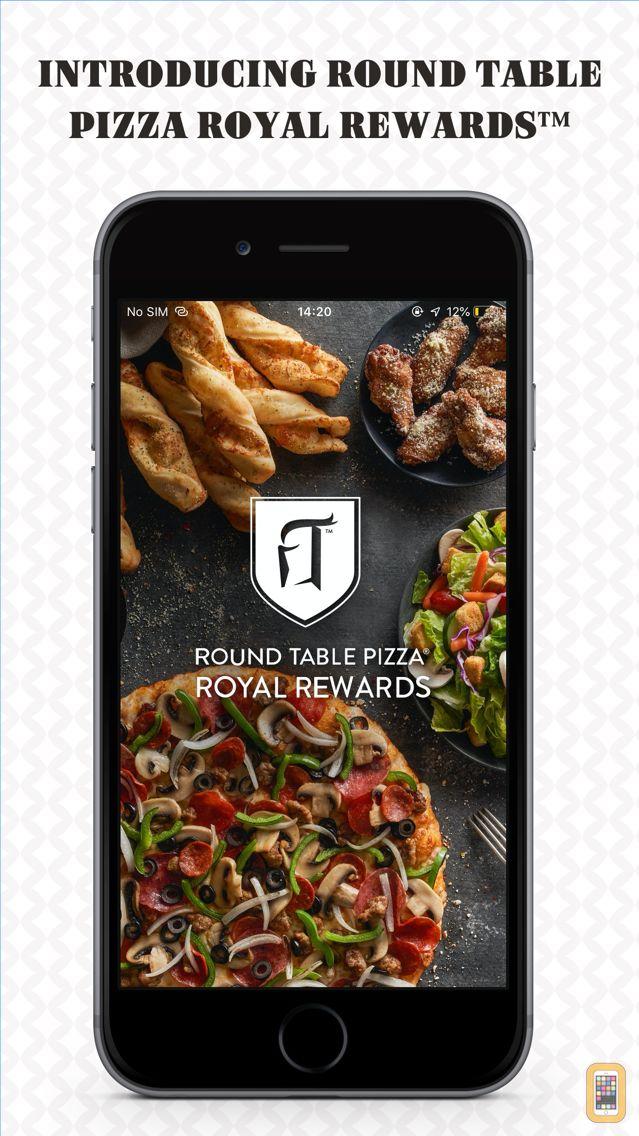 Screenshot - Round Table Pizza Rewards