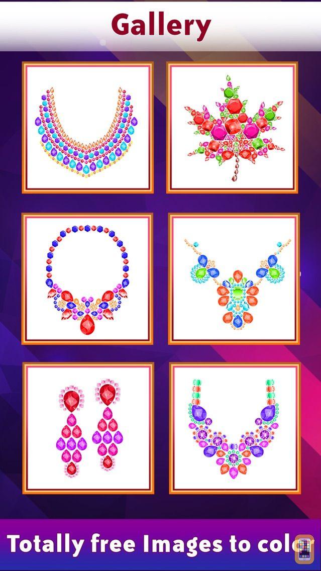 Screenshot - Gems Art Color By Number
