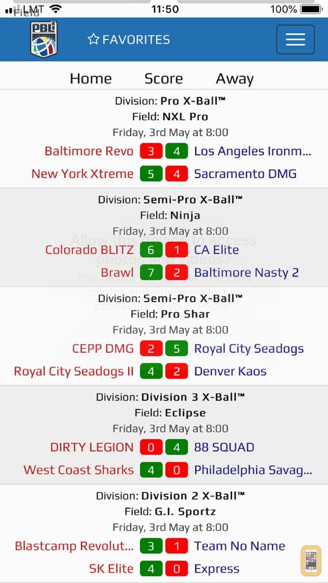 Screenshot - PB Leagues