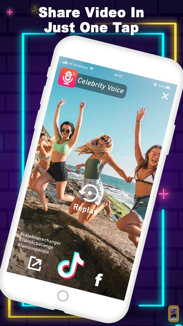 Screenshot - Celebrity Voice Changer + App