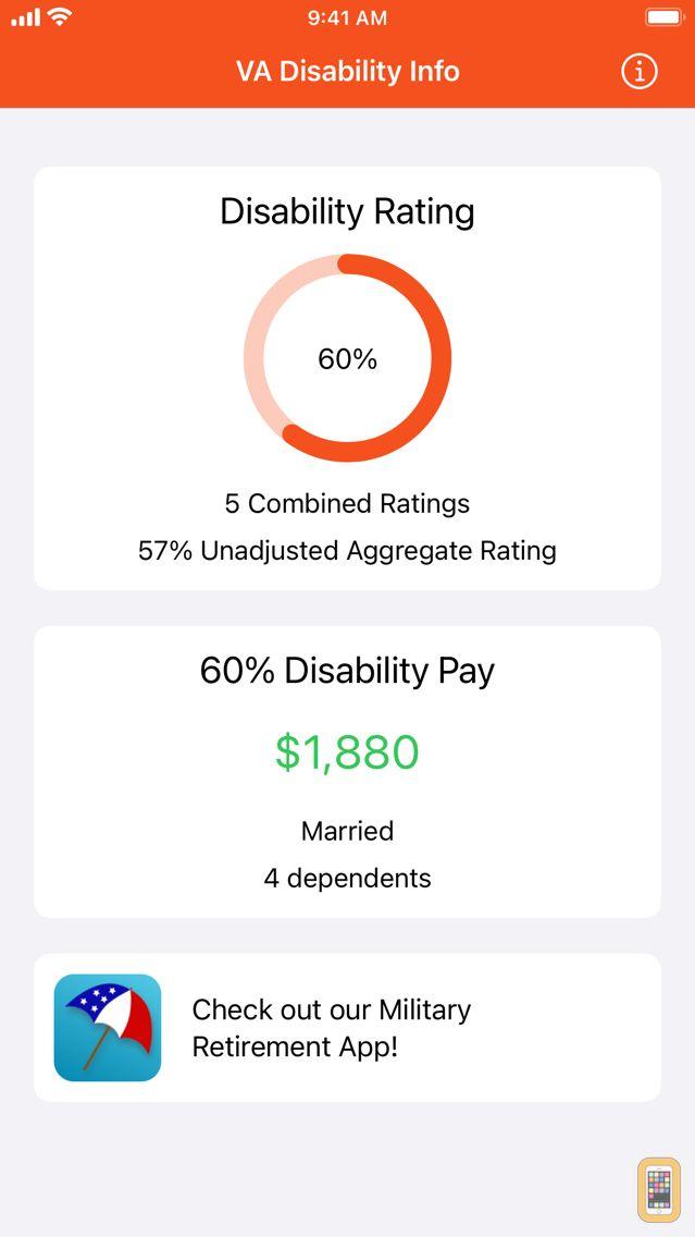 Screenshot - VA Disability Pay
