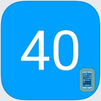 Football 40/25 Playclock by Ryan Smith (iPhone)