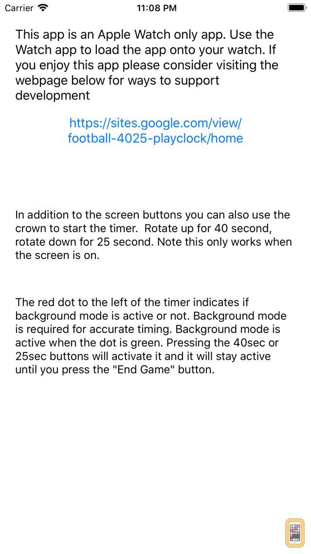 Screenshot - Football 40/25 Playclock