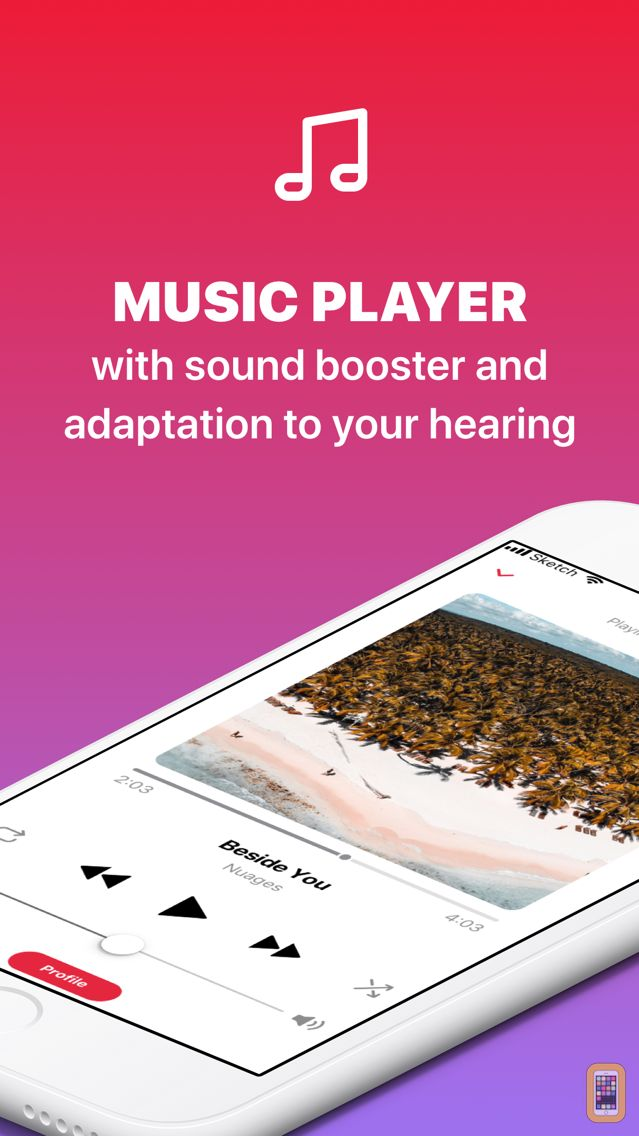 Screenshot - Music Hearing Assist