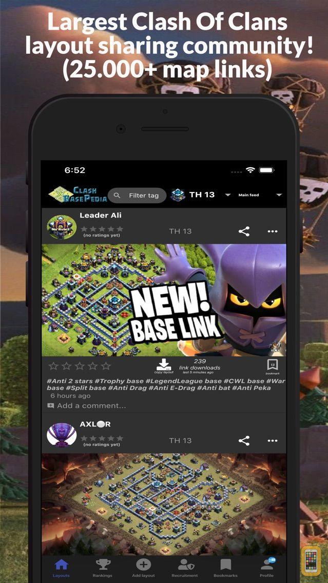 Screenshot - BasePedia for Clash of Clans