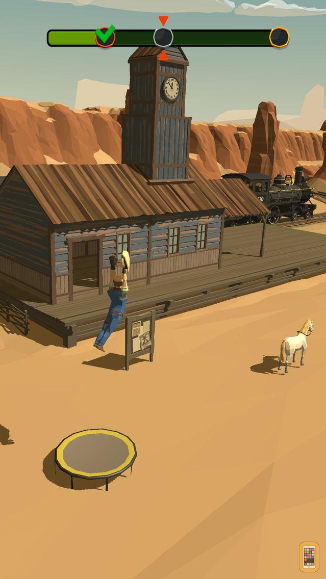 Screenshot - Cowboy Flip 3D