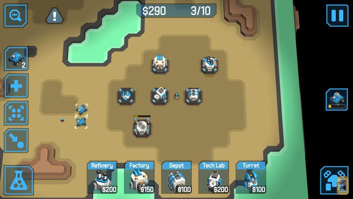 Screenshot - zCube - 3D RTS