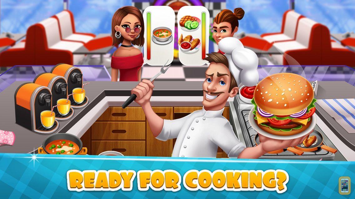Screenshot - Cooking Game Burger Food Fever